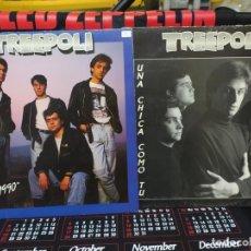 Discos de vinilo: TREEPOLI LOTE 2 LPS BUEN ESTADO CON LAS LETRAS. Lote 200264248