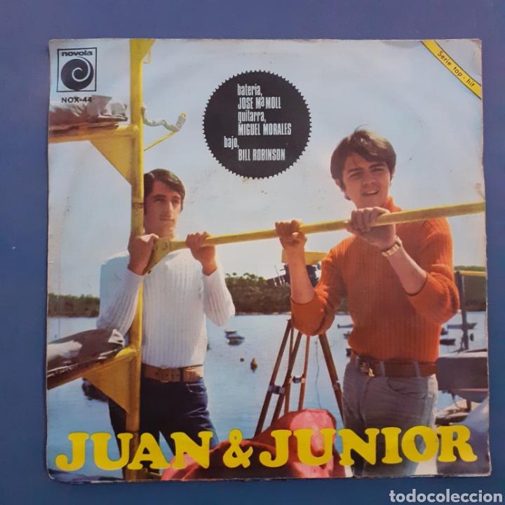 Discos de vinilo: Juan & Junior. Nos falta fé. Novola. 1967. Funda VG+. Disco VG++. - Foto 2 - 200270108