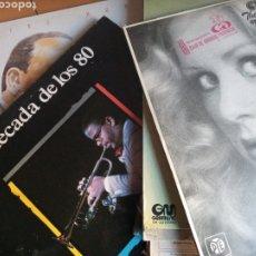 Discos de vinilo: LOTE 15 DISCOS ORQUESTAS JAZZ VER FOTO DE CADA UNO. Lote 200271680