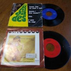 Discos de vinilo: LOTE -UNIDADES-UN EP Y UN SINGLE- PRETENDES OLVIDAR +3 / MAS TEQUILA +1. Lote 200287275