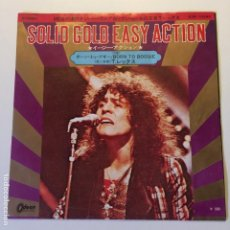 Discos de vinilo: T. REX ?– SOLID GOLD EASY ACTION / BORN TO BOOGIE JAPON 1972 ODEON. Lote 200288005