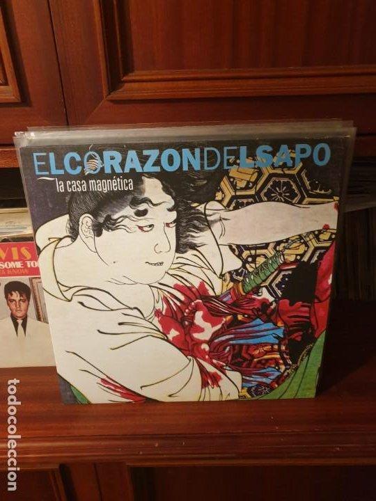 EL CORAZON DEL SAPO / LA CASA MAGNETICA / FIFERRO RECORDS 2017 (Música - Discos - LP Vinilo - Punk - Hard Core)