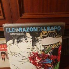 Disques de vinyle: EL CORAZON DEL SAPO / LA CASA MAGNETICA / FIFERRO RECORDS 2017. Lote 200289066
