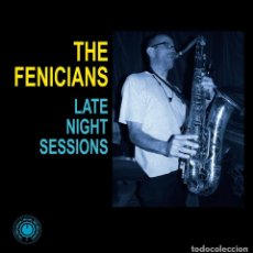 Discos de vinilo: THE FENICIANS: LATE NIGHT SESSIONS. E.P 10 PULGADAS VINILO NUEVO ! SKA-JAZZ - REGGAE. Lote 200289811