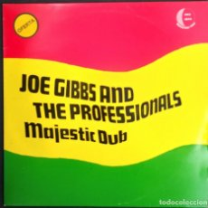 Discos de vinilo: JOE GIBBS & THE PROFESSIONALS : MAJESTIC DUB. LP VINYL - DUB - REGGAE - 1985. Lote 200290056