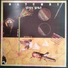 Discos de vinilo: MATUMBI - SEVEN SEALS. LP VINILO -VINYL LP - 1978 - REGGAE - DENNIS BOVELL. Lote 200290338