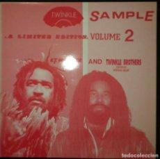 Discos de vinilo: E.T.WEBSTER-TWINKLE BROTHERS - TWINKLE SAMPLE VOL.2. VINYL LP - 1991 - REGGAE - SOUND SYSTEM DUB. Lote 200290683