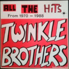 Discos de vinilo: TWINKLE BROTHERS: ALL THE HITS FROM 1970-1988 . LP VINILO -VINYL LP - REGGAE . Lote 200291747