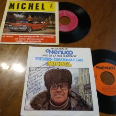 Discos de vinilo: LOTE-MICHEL-DOS DISCOS UN EP Y UN SIGLE ( RARO PROMOCIONAL NENUCO). Lote 200294523