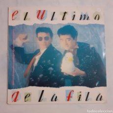 Discos de vinilo: EL ÚLTIMO DE LA FILA. NUEVO PEQUEÑO CATÁLOGO DE SERES Y ESTARES. EMI 076-7944421. 1980.. Lote 200296777