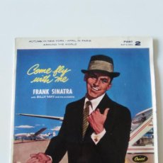 Discos de vinilo: FRANK SINATRA COME FLY WITH ME + 3 ( 1959 CAPITOL UK ). Lote 200304086