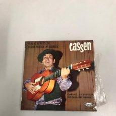 Discos de vinil: CASSEN. Lote 200309872