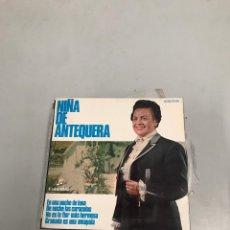 Discos de vinilo: NIÑA DE ANTEQUERA. Lote 200310115