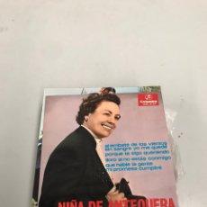 Discos de vinilo: NIÑA DE ANTEQUERA. Lote 200312683