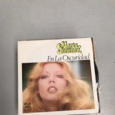 Discos de vinil: MARÍA JIMÉNEZ. Lote 200313207