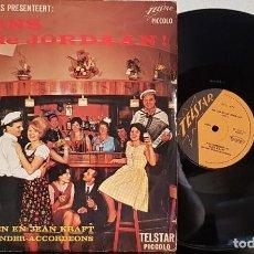 Discos de vinilo: BIJ ONS IN THE JORDAAN!- JOHNNY HOES . Lote 200323642