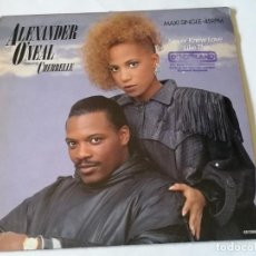 Discos de vinilo: ALEXANDER O'NEAL FEATURING CHERRELLE - NEVER KNEW LOVE LIKE THIS - 1987. Lote 245094505