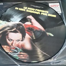 Discos de vinilo: MUSICA LP: PICTURE LE FOTO PROIBITE DI UNA SIGNORA PER BENE ENNIO MORRICONE. Lote 200332082