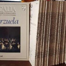 Discos de vinilo: LOTE DE 100 DISCOS DEL 1 AL 100 MUSICALIA SALVAT - LOS MEJORES FRACMENTOS DE LA MUSICA CLASICA. Lote 200332505