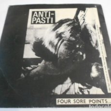 Disques de vinyle: ANTI-PASTI--FOUR SORE POINTS..... Lote 200345172
