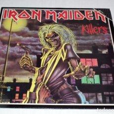 Discos de vinilo: LP IRON MAIDEN - KILLERS. Lote 200351776