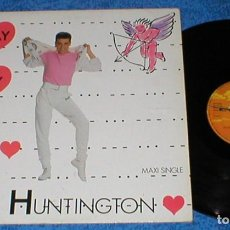 Discos de vinilo: EDDY HUNTINGTON SPAIN MAXI SINGLE 1988 MAY DAY ELECTRONIC ITALO EURO DISCO POP MAX MUSIC OFERTA !. Lote 200363795