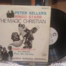 Discos de vinilo: PAUL MCCARTNEY - BSO THE MAGIC CHRISTIAN LP SPAIN 1970 PEPETO TOP. Lote 200365641