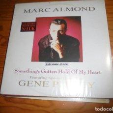 Discos de vinilo: MARC ALMOND. SOMETHINGS GOTTEN HOLD OF MY HEART. GENE PITNEY . MAXI-SINGLE. VERTIGO, 1984. (#). Lote 200367453