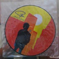 Disques de vinyle: GILLAN : RESTLESS (U.K. PICTURE DISC) !!!!!!. Lote 200380938