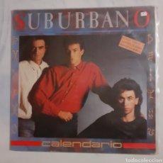 Discos de vinilo: SUBURBANO. CALENDARIO. EPIC 450140 1. 1986.. Lote 200389666