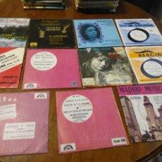 Discos de vinilo: LOTE - ORQUESTAS ESPAÑOLAS- ONCE EP- CONJUNTO JUSAL,JOSE RUBIO Y SU CONJUNTO,GRUPO DECIMO. Lote 200390995