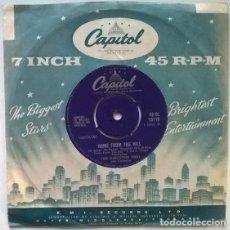 Dischi in vinile: THE KINGSTON TRIO. EL MATADOR/ HOME FROM THE HILL. CAPITOL, UK 1960 SINGLE. Lote 200397292