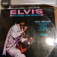 Discos de vinilo: ELVIS PRESLEY. RAISED ON ROCK. EDITADO EN ESPAÑA. 1974. Lote 200403386