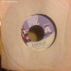 Discos de vinilo: KOKOLO - THE MAGNIFICENT SEVEN PT1 & 2 VAMPISOUL THE CLASH AFRO VERSION SINGLE. Lote 200403457