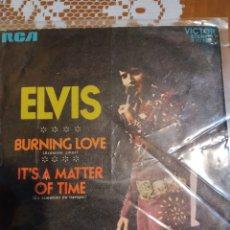 Discos de vinilo: ELVIS PRESLEY . BURNING LOVE. PROMOCIONAL. EDITADO EN ESPAÑA. 1972. Lote 200404210
