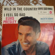 Discos de vinilo: ELVIS PRESLEY. WILD IN THE COUNTRY. EDITADO EN ESPAÑA. 1961. Lote 200404385