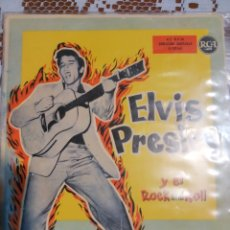 Dischi in vinile: ELVIS PRESLEY Y EL ROCK AND ROLL. EDITADO EN ESPAÑA 1959. Lote 200404513
