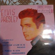 Disques de vinyle: ELVIS PRESLEY. ARRANCALO EP EDITADO EN ESPAÑA 1961. Lote 200506588