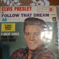 Discos de vinilo: ELVIS PRESLEY. IN FOLLOW THAT DREAM. EDITADO EN ESPAÑA. 1962. Lote 200506632