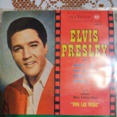 Discos de vinilo: ELVIS PRESLEY. WHAT'D I SAY. EP EDITADO EN ESPAÑA 1964. Lote 200506890