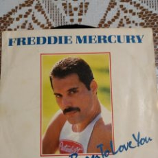Discos de vinilo: FREDDIE MERCURY. I WAS BORN TO LOVE YOU. EDITADO EN ESPAÑA 1985.. Lote 200509297