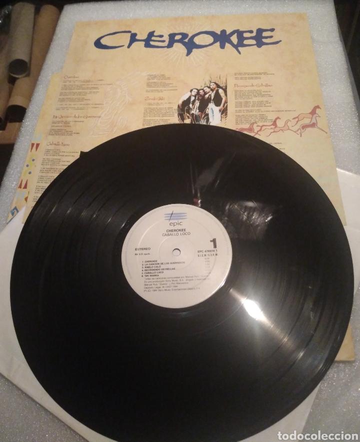 Discos de vinilo: Cherokee - caballo loco - Foto 4 - 200517248