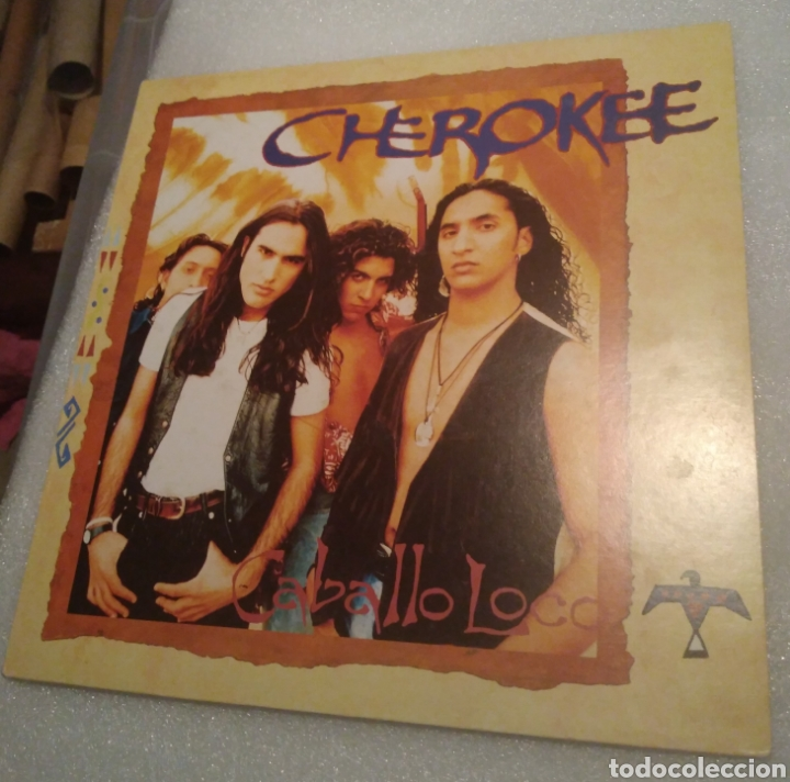 CHEROKEE - CABALLO LOCO (Música - Discos - LP Vinilo - Flamenco, Canción española y Cuplé)