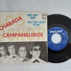 Discos de vinilo: LOS SONOR CHARADA CAMPANILLEROS EP HIPPY HIPPY +3. Lote 200522688