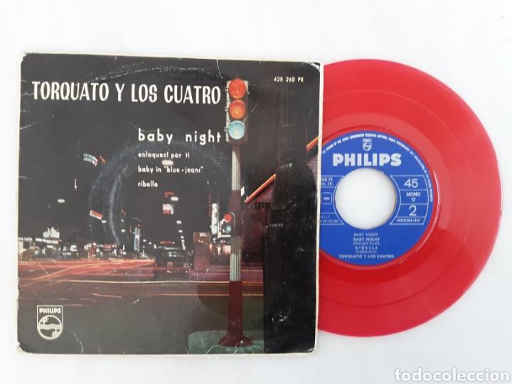 TORQUATO Y LOS CUATRO EP BABY NIGHT (Música - Discos de Vinilo - EPs - Pop - Rock Internacional de los 50 y 60)