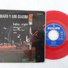 Discos de vinilo: TORQUATO Y LOS CUATRO EP BABY NIGHT. Lote 200528228