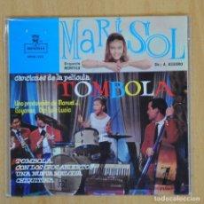 Discos de vinil: MARISOL - TOMBOLA + 3 - EP. Lote 200541622