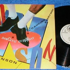Discos de vinilo: J.J. BRONSON SPAIN MAXI SINGLE DANCING EVERYWAY 1987 ELECTRONIC ITALO DISCO EURODANCE BLANCO Y NEGRO. Lote 200557315