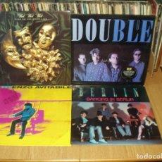 Discos de vinilo: LOTE 7 LP'S + 1 PICTURE ROUND ONE.- BERLIN.- ENZO AVITABILE.- WET WET WET.- DOUBLUE. Lote 200576323