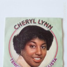 Discos de vinilo: CHERYL LYNN TENGO QUE SER REALISTA GOT TO BE REAL / COME IN FROM THE RAIN ( 1979 CBS ESPAÑA ). Lote 200579285